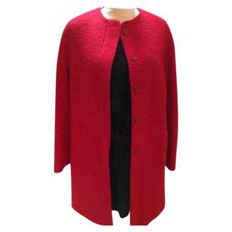 Zara Red Polyester Coats