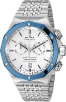 Edox Men's 10108 3BU AIN Delfin Analog Display Swiss Quartz Watch