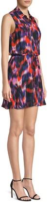 Parker Multicolor Sleeveless Mini Dress