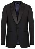 Paul Smith London Mayfair Black Wool Blend Tuxedo Jacket
