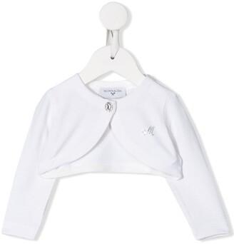 MonnaLisa Long-Sleeved Cropped Cardigan
