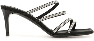 Pedro Garcia Embllished Strap Sandals