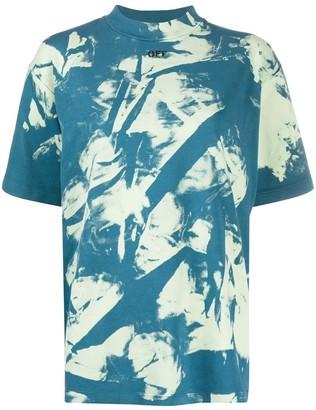 Off-White tie-dye cotton T-shirt