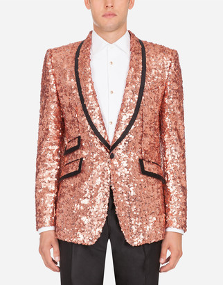 Dolce & Gabbana Sequined Sicily Jacket