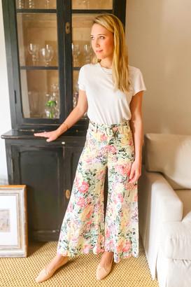 Faithfull Rose Wide Leg Pants