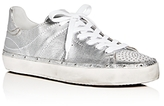 Rebecca Minkoff Michell Metallic Lace Up Sneakers