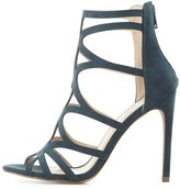 Charlotte Russe Caged Peep Toe Dress Sandals