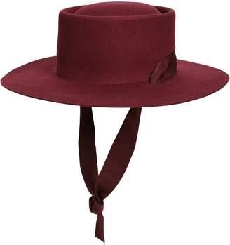 Noak Jordan Wool Boater Hat