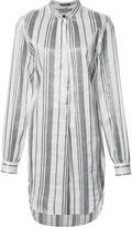 Ann Demeulemeester striped shirt - women - Ramie/Polyester - 36