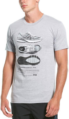 New Balance 990 V5 Shoe T-Shirt