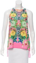 Clover Canyon Printed Sleeveless Top