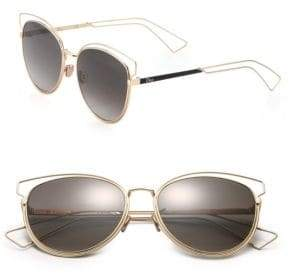 Christian Dior Sideral Cat's-Eye 56MM Sunglasses