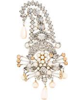 Etro pearl embellished brooch