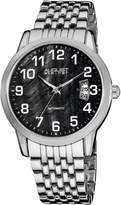 August Steiner Men's AS8026BK Automatic Bracelet Watch
