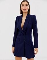 Club L London double breasted mini blazer dress