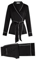 Equipment Odette silk-satin pyjama set