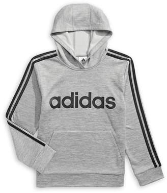 adidas Boy's Logo Pullover Hoodie