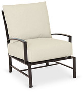 One Kings Lane La Jolla Club Chair - Espresso - frame, espresso; upholstery, canvas flax