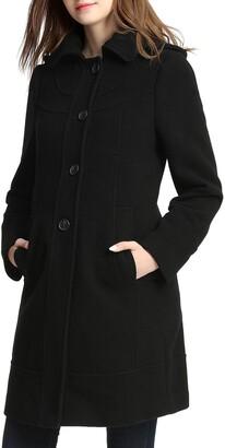 Kimi and Kai Wool Blend Maternity Coat