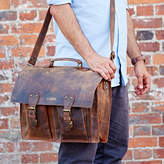 Paper High Personalised Handmade Buffalo Leather Briefcase