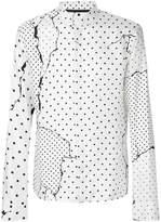 Haider Ackermann dot-print shirt
