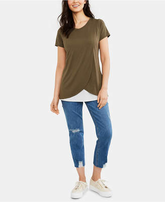 Motherhood Maternity Distressed Post-Pregnancy Skinny Jeans