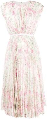 Giambattista Valli Floral-Print Midi Dress