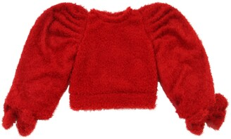 Mummymoon Boucle Sweater W/ Bows