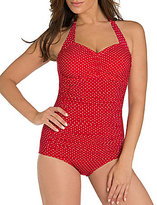 Miraclesuit Pin Point Spellbound Underwire Bust Enhancing One Piece