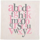 Glenna Jean Swizzle Alphabet Wall Art in Pink