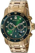 Invicta Men's 'Pro Diver' Quartz Stainless Steel Casual Watch, Color:Gold-Toned (Model: 21925)