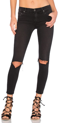 GRLFRND Candice Mid-Rise Super Stretch Skinny Jean