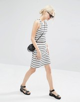 Weekday Co Ord Skirt With Stripes