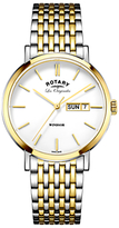 Rotary Men's Les Originales Windsor Day Date Bracelet Strap Watch