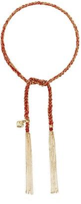 Carolina Bucci 18kt yellow gold Lucky woven tie bracelet