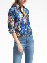 Banana Republic Dillon-Fit Floral Blouse