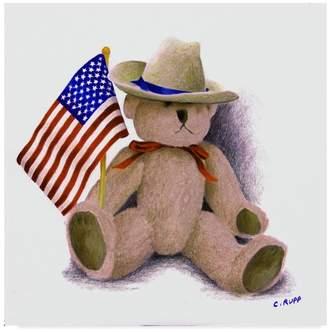 CAROL J. Trademark Fine Art Rupp 'Teddy Bear Ix' Canvas Art