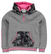 Everlast Kids Premium Over the Head Hoody Junior Girls Pattern Kangaroo Pocket