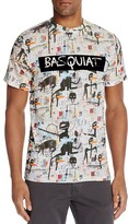 Eleven Paris Basquiat Flocked Graphic Tee