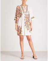 Tory Burch Kaleidoscope woven tunic dress
