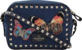 Valentino Rockstud Cross-Body Butterfly Bag