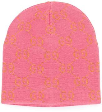 Gucci Kids GG knitted beanie