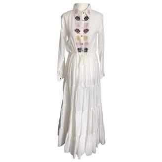 Carolina K. White Cotton Dress for Women