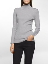 Calvin Klein Ribbed Knit Turtleneck Sweater
