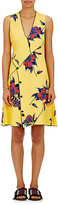 Proenza Schouler Women's Lily-Print Silk Minidress