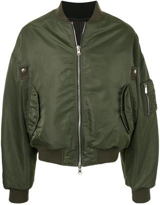 SONGZIO MA-1 double-face bomber jacket