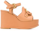 See by Chloe front ring wedged sandals