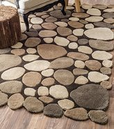 nuLoom 200PB01C-860116 Hand-Tufted Contemporary 100 Percent Wool Rug (8-Feet 6-Inch X 11-Feet 6-Inch)