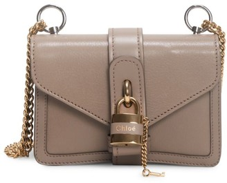 Chloé Mini Aby Leather Shoulder Bag