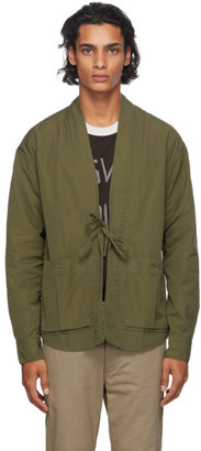 Visvim Green Lhamo Shirt